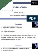 Guia 02 - Direito Empresarial I - 15.02.19