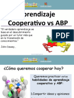 APRENDIZAJE COOPERATIVO VS ABP 2019 Colegio La Salle.ppt