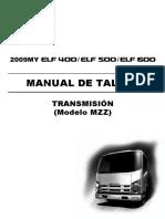 Transmision MZZ ELF400-500-600 ESPAÑOL