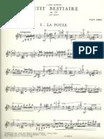 Jean Absil-La poule (completo x chitarra)