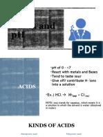 ACID, BASES AND pH