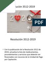 Resolución 3512-2019