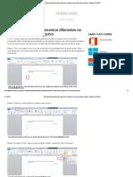Aprenda a juntar documentos diferentes no Word em um único arquivo _ Dicas e Tutoriais _ TechTudo