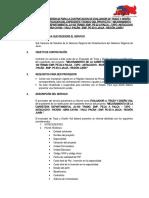 TDR EVALUADOR DE TRAZO Y DISEÑO VIAL JU103