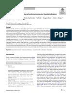 Identifying and evaluating school environmental health indicators