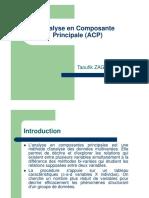 Analyse en Composante Principale (ACP)(S1)