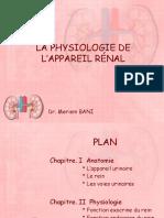 Physiologie rénale 2020