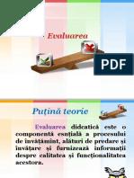 EVALUAREA.pptx