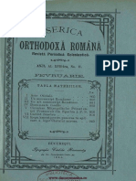 Erbiceanu, Constantin - Canonul paraclis pentru ciumă (BOR 17, nr. 11, februarie 1893)