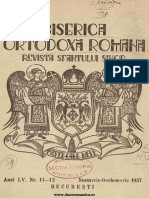Severeanu, Nicolae - Amintiri din anii 1871-1885 (BOR 55, nr. 11-12, noiembrie-decembrie 1937)