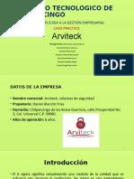 Empresa Arviteck sistemas de seguridad