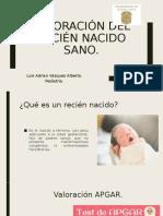 Valoración del recién nacido sano