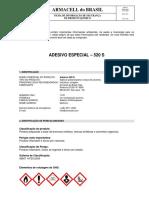 FISPQ ADESIVO 520S.pdf