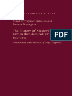 Wilfried Hartmann, Kenneth Pennington - The History of Medieval Canon Law in the Classical Period, 1140-1234_ From Gratian to the Decretals of Pope Gregory IX