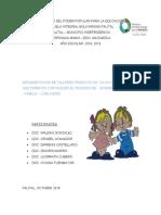 grupo I preescolar proyecto pedagogico