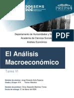 JEAE - ANALISIS ECONOMICO Análisis Macroeconómico