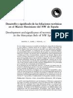 Desarrollo y significado de las foliaciones tectónicas en el Macizo Herciniano del NW de España