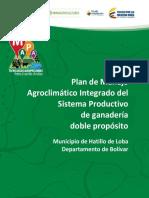 Ganaderia Doble Proposito - Hatillo de Loba, Bolivar