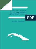 Los primeros pasos de la ciencia del derecho administrativo en cuba