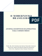 O MODERNISMO BRASILEIROAPOSTILA DE ESTUDOS DE LITERATURA PARA O ENSINO MÉDIO - Produto Educacional Alini Paravidini