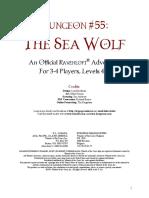 AD&D Ravenloft Level 4-6 Adventure - The Sea Wolf Dungeon