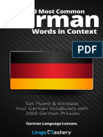2000 Most Common German Words i - Lingo Mastery_1.pdf