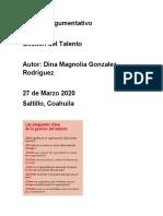 Selección de organigrama ensayo gestion del talento