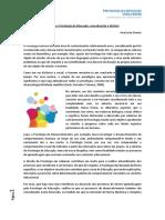 Aula 1 -Texto 1 _ Psicologia e Psicologia Da Educação