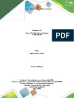 Phase 1 - Identification of environmental