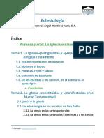 TEO214-Indice-Introduccion-Eclesiologia