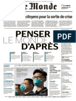 Le Monde - 13/04/2020