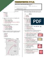 Examen freightliner M2 106