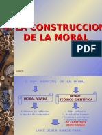 4. LA CONSTRUCCION DE LA MORAL