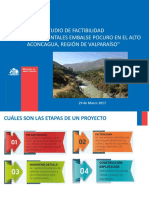 ESTUDIO DE FACTIBILIDAD Y ESTUDIOS AMBIENTALES EMBALSE POCURO EN EL ALTO ACONCAGUA, REGIÓN DE VALPARAÍSO_