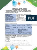 Guía de actividades y rúbrica de evaluación - Fase 5 - Desarrollar la evaluación final prueba objetiva abierta (POA).docx