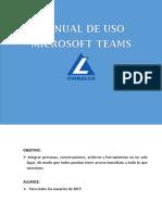 Cartilla uso Microsoft Teams (1)