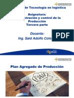 Plan Agregado de produccion