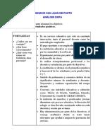 Analisis-DOFA- Gimnasio San Juan de Pasto