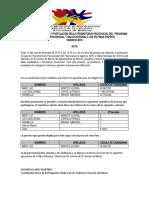 ACTA PROCESO DE SELECCION DEL PROMOTOR PAPSIVI 2019