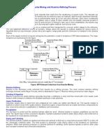 The Bauxite Mining and Alumina Refining Process
