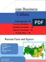 Russian Business Culture