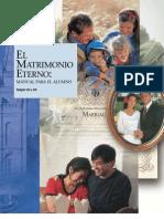 El Matrimonio Eterno - Manual Para El Alumno