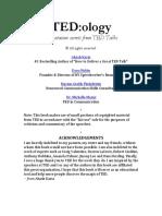 TEDology-Presentation-Secrets-from-TED