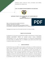 FALLO ACCION TUTELA 2020 DESPIDO SIN JUSTA CAUSA