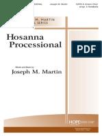 Sing Hosana - Joseph Martin