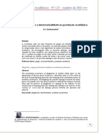 Texto Complementar II(METODOLOGIA DO TRABALHO ACADEMICO)
