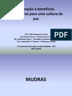Aplicação e Benefícios dos Mudras Seminário Educação e Espiritualidade revisado