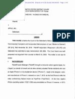 Florida FaceTime Suit Dismissed