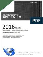 Asnt Snt-tc-1a 2016