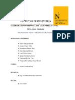 INFORME DE ENSAYOS DE UNIDADES DE ALBAÑILERÍA